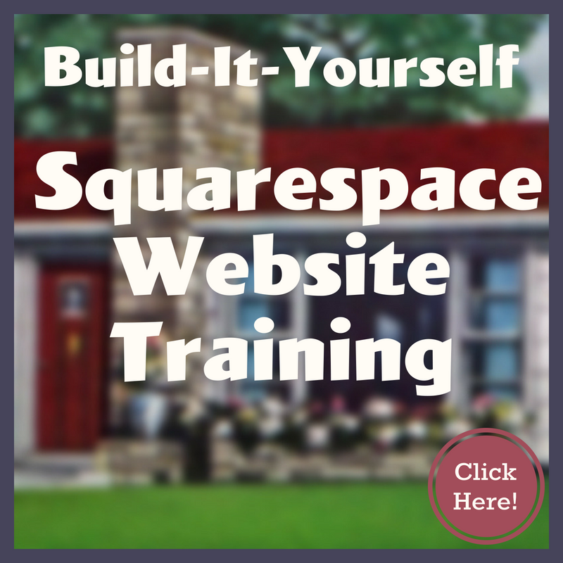 Build It Yourself Squarespace Website Design Training