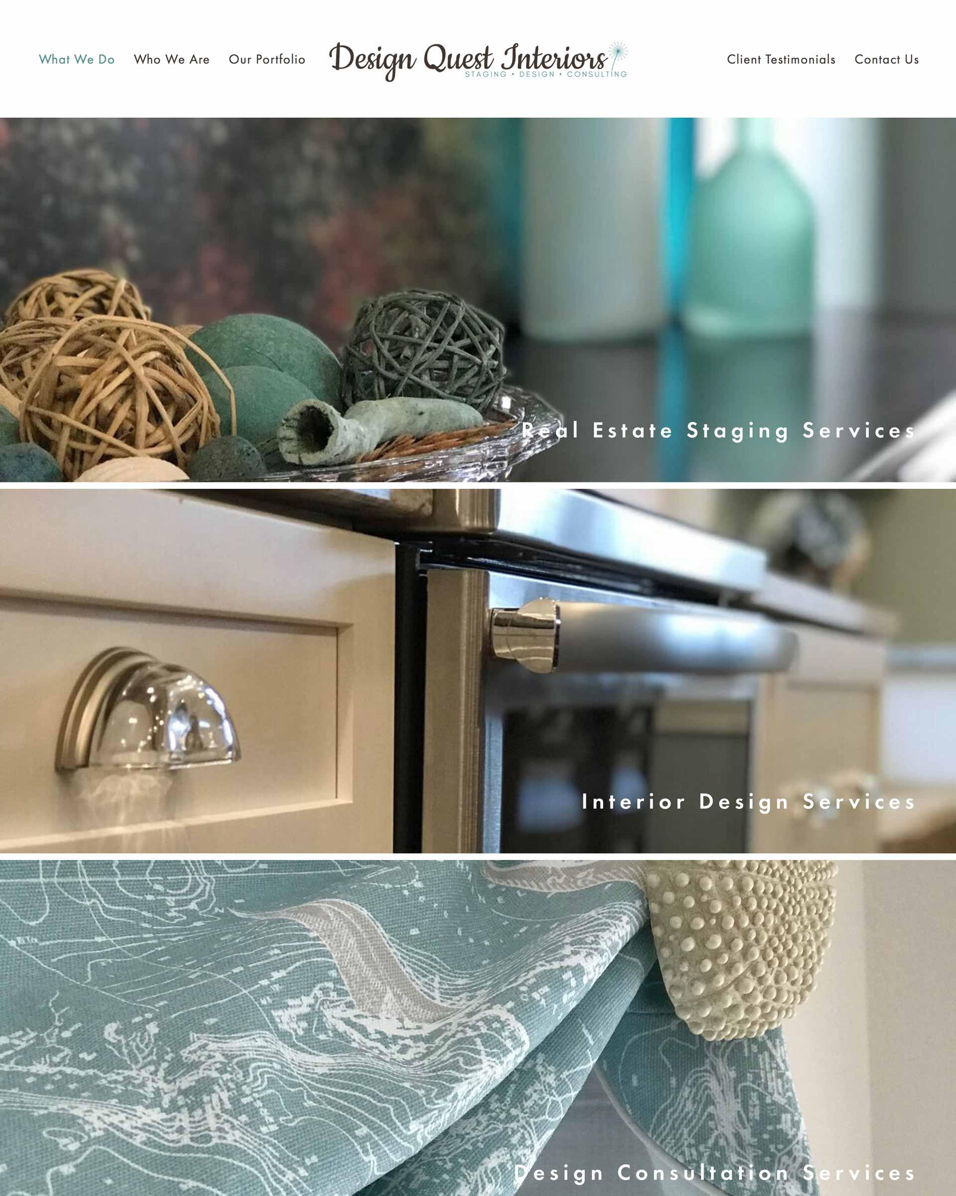 Design Quest Interiors - A Home Staging, Interior Design and Design Consultation Firm