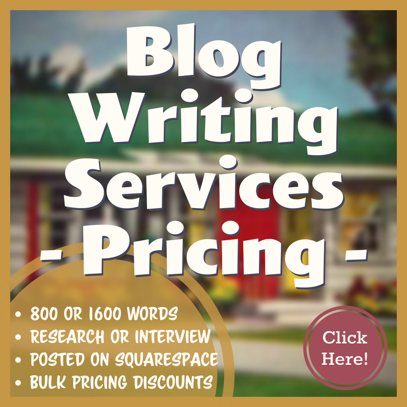 What is the cost of Blog Writing Services?