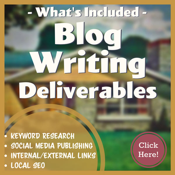 What's Included In Our Blog Writing Services