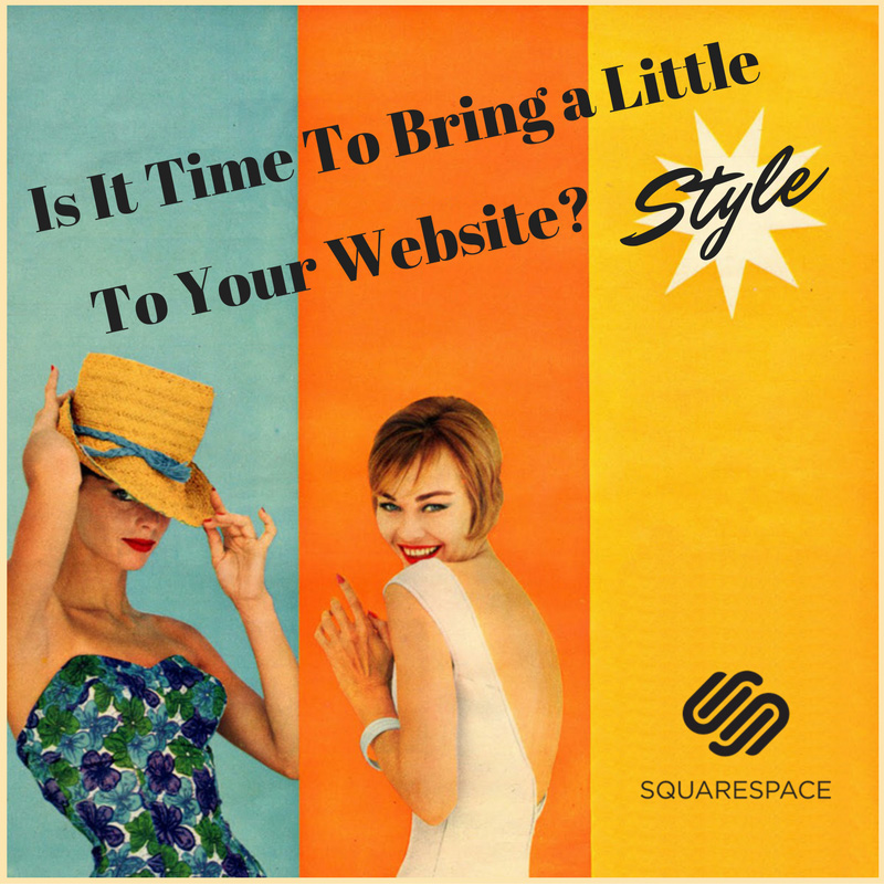 Squarespace is a time saving, easy to use website that looks great and attracts clients.