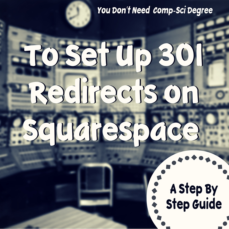 Setting up 301 Redirects on Squarespace Websites