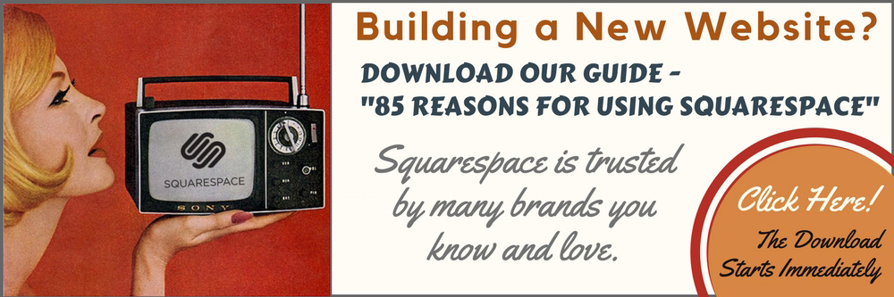 85 REASONS FOR USING SQUARESPACE