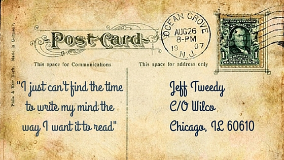 It's the small things like the above vintage postcard with a personalized message that gets email opened