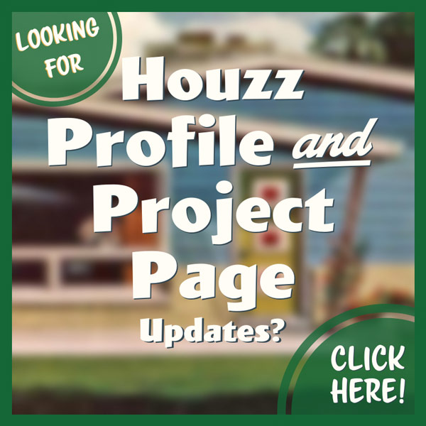 Houzz Profile and Project Page Updates