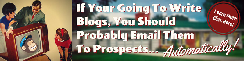 How To Automatically send blogs using email.