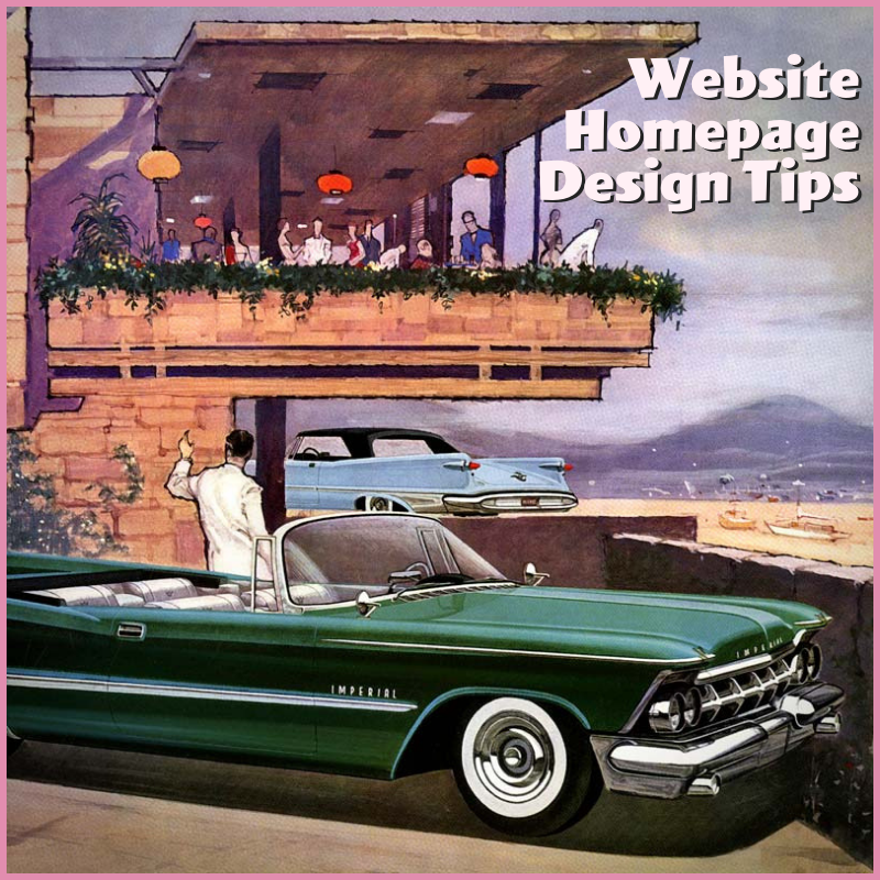 Learn Professional Design Tactics for Building a Better Homepage.