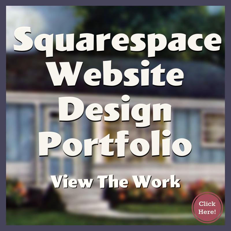 Squarespace Website Designer Portfolio