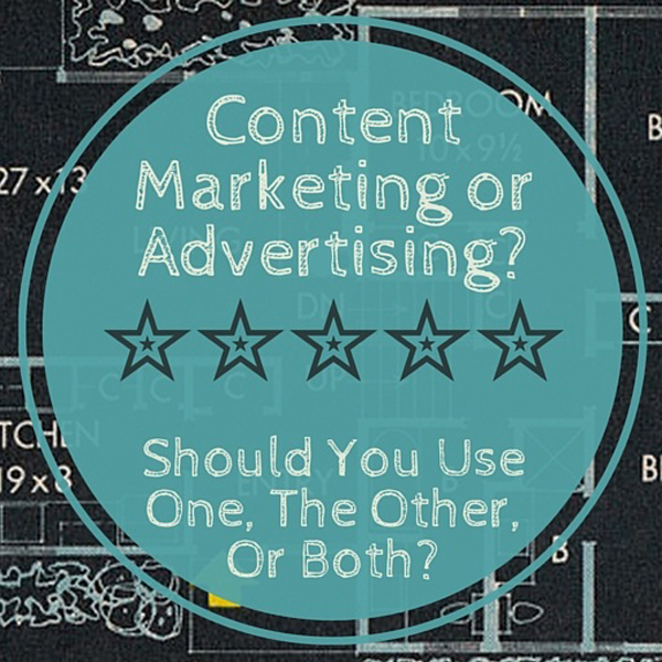 In a word, both. But its important to have content on your website before you invest in advertising. Here's why.