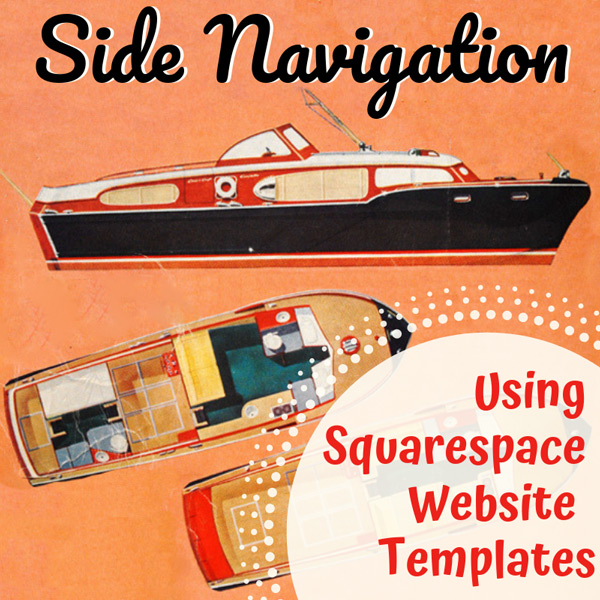 Squarespace Templates With Side Navigation