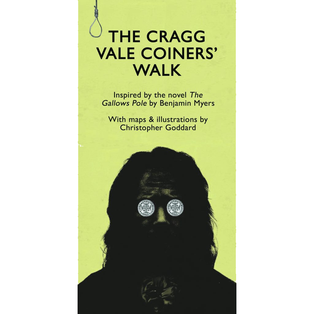 Buy The Cragg Vale Coiners' Walk illustrated Map & Poster.