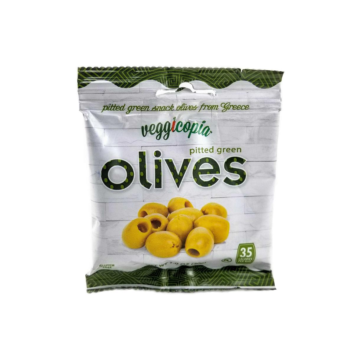 Veggicopia Green Greek Olives