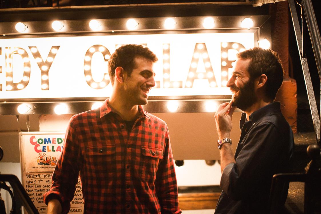Sam Morrill + Phil Hanley