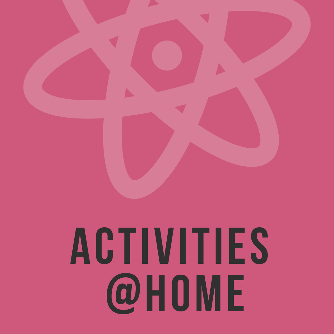 Some of our best science activities for you to try at your own place! -