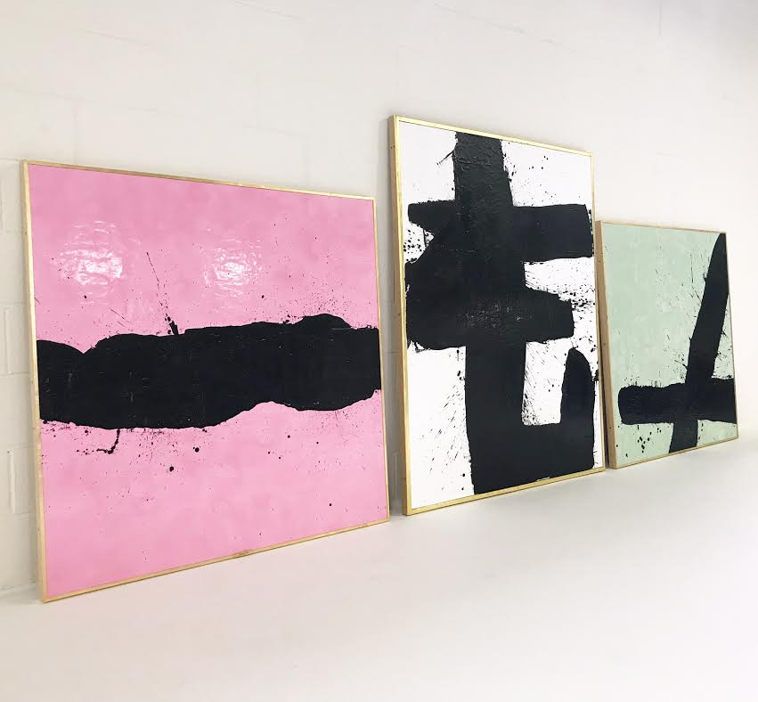 Selection of works in Tar series.