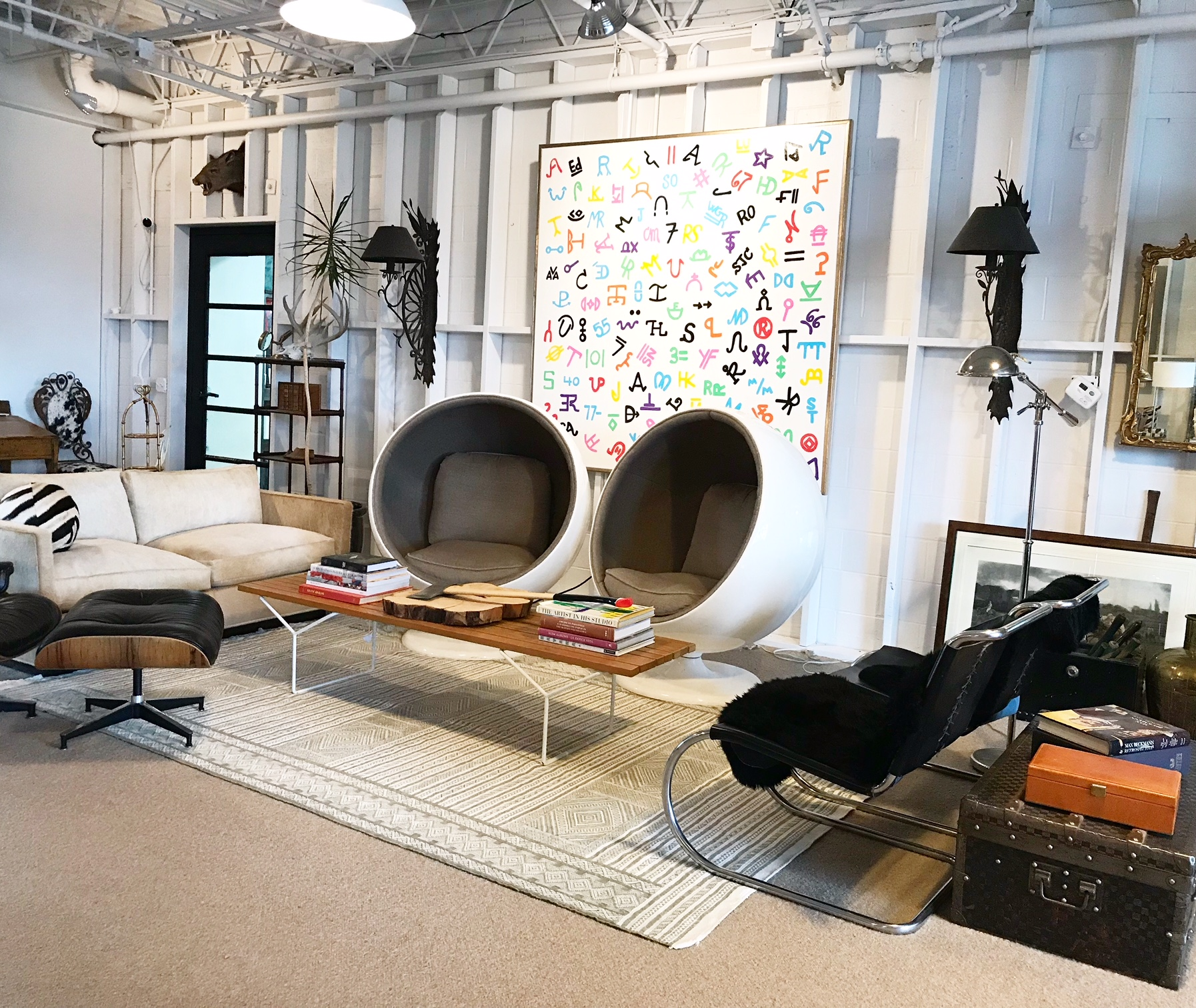 Brands in Color in the Forsyth Studio.