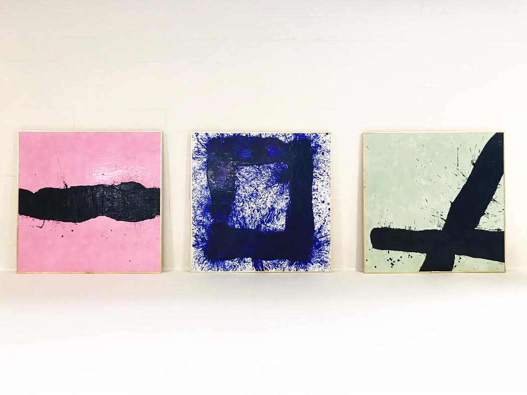 A series of works in the Tar series.