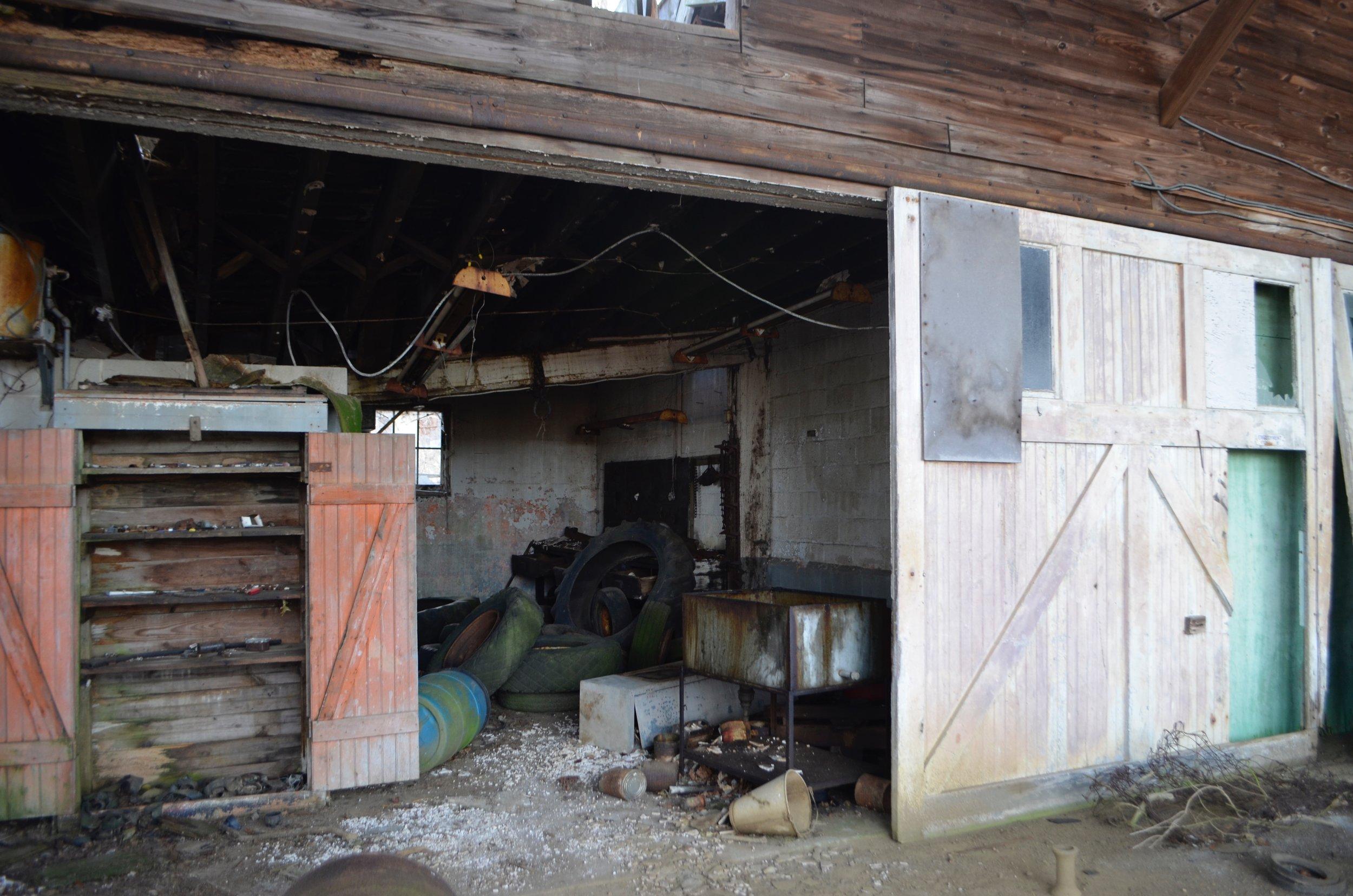 Farm Barn Building