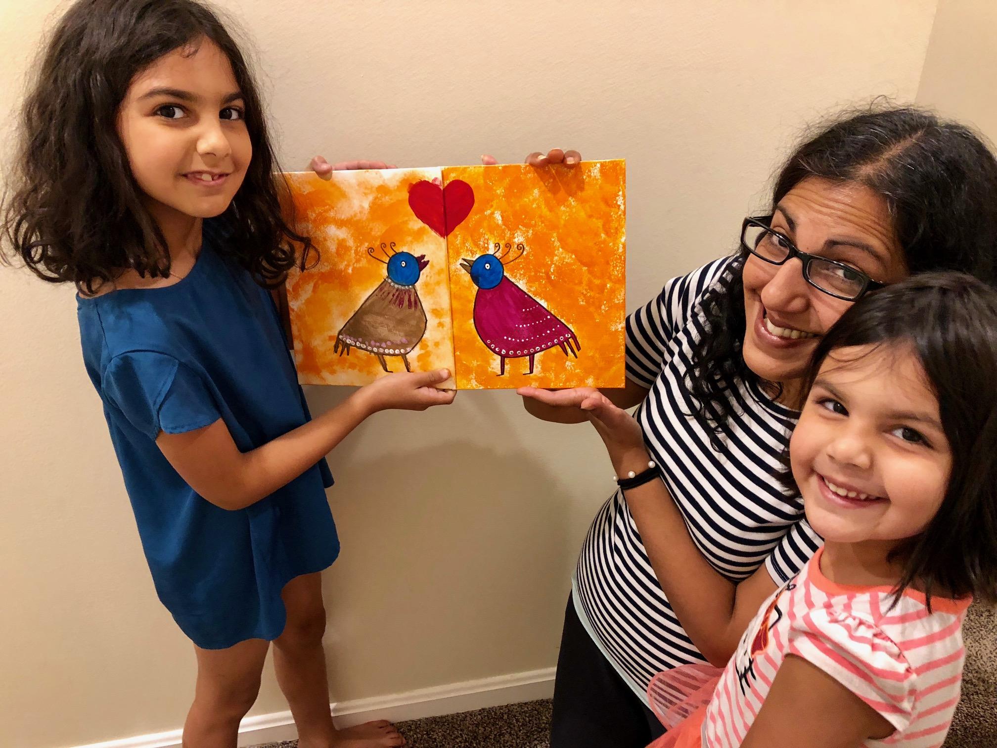 COPYCAT Art Workshop - Parent/child art workshop- collaborate to create one piece of artwork!