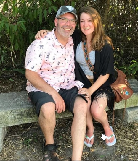 Dan and Sarah @  Tybee Island, Georgia .