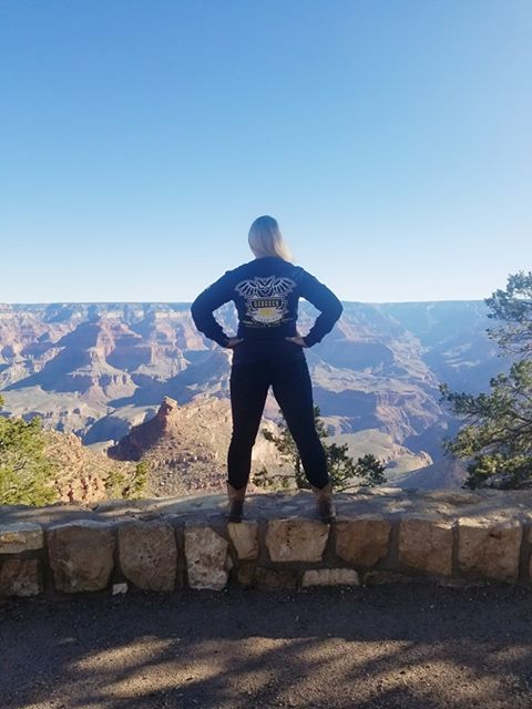SOB on the Rim of the Grand Canyon