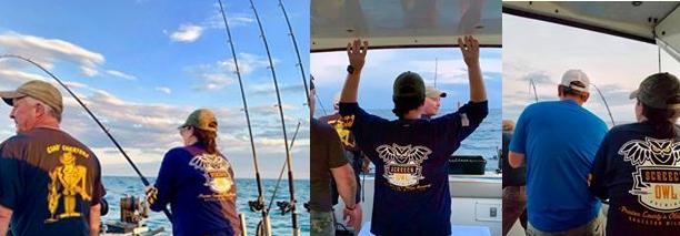 Fishing at Lake Erie