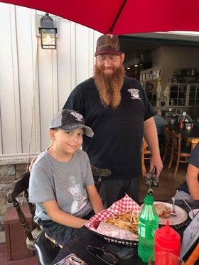 """A very special young man came to visit us at Screech Owl, to """"out Swag"""", Swagalicious!"""