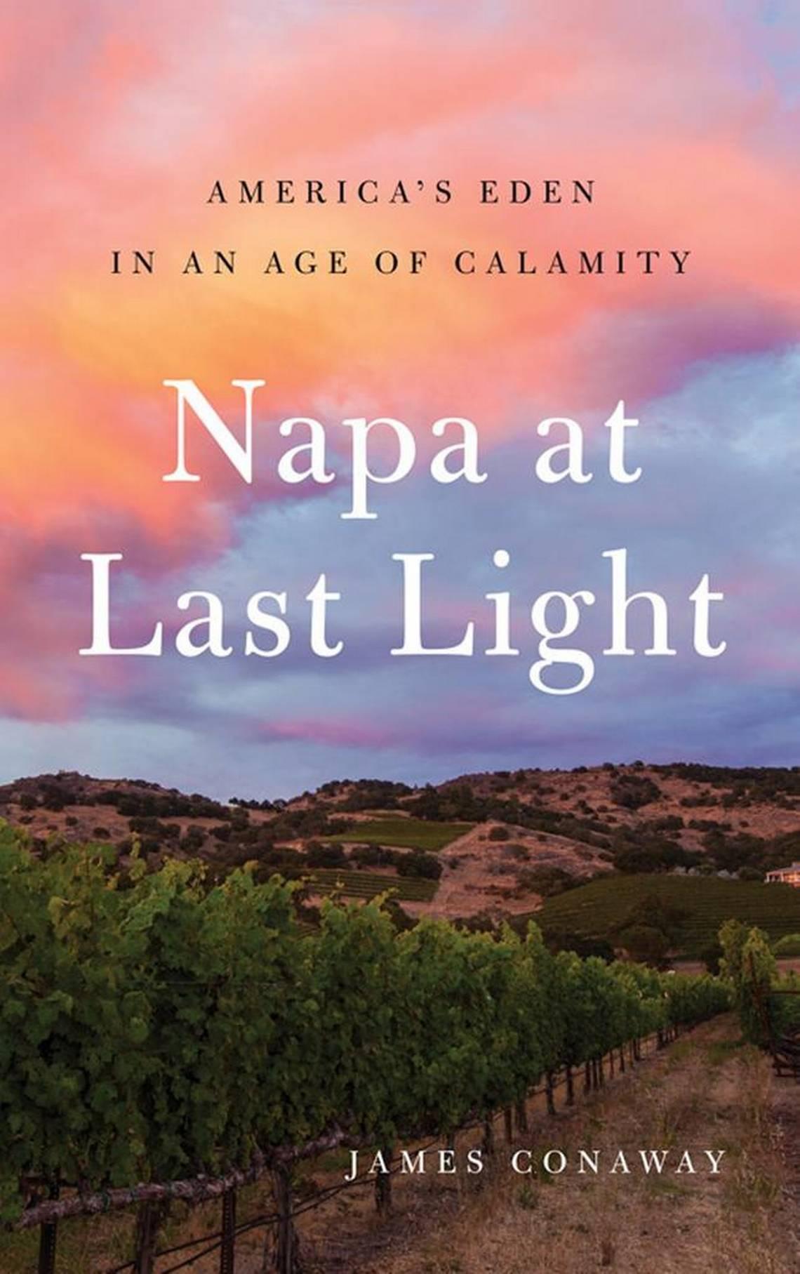 """James Conaway, author of """"Napa at Last Light.""""Shainah Conaway"""
