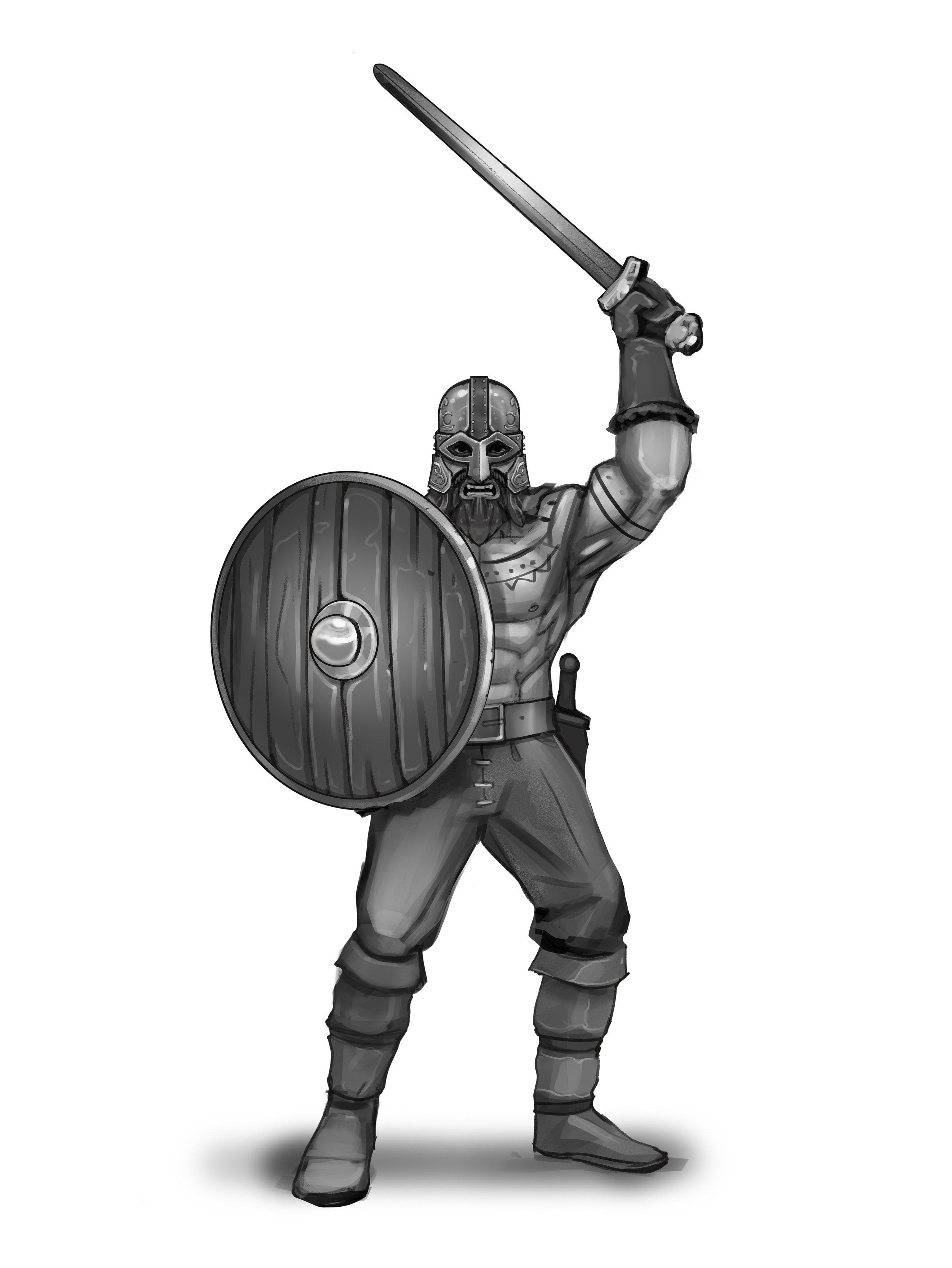 Sword Raider - Non-horned Helmet