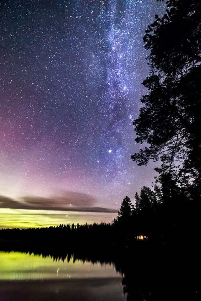 September night in colour