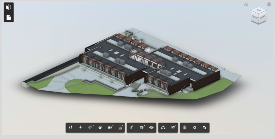 BIM Models - BIM is an acronym for Building Information Modelling. It describes the process of using software to model in 3D the physical shape of the building creating a