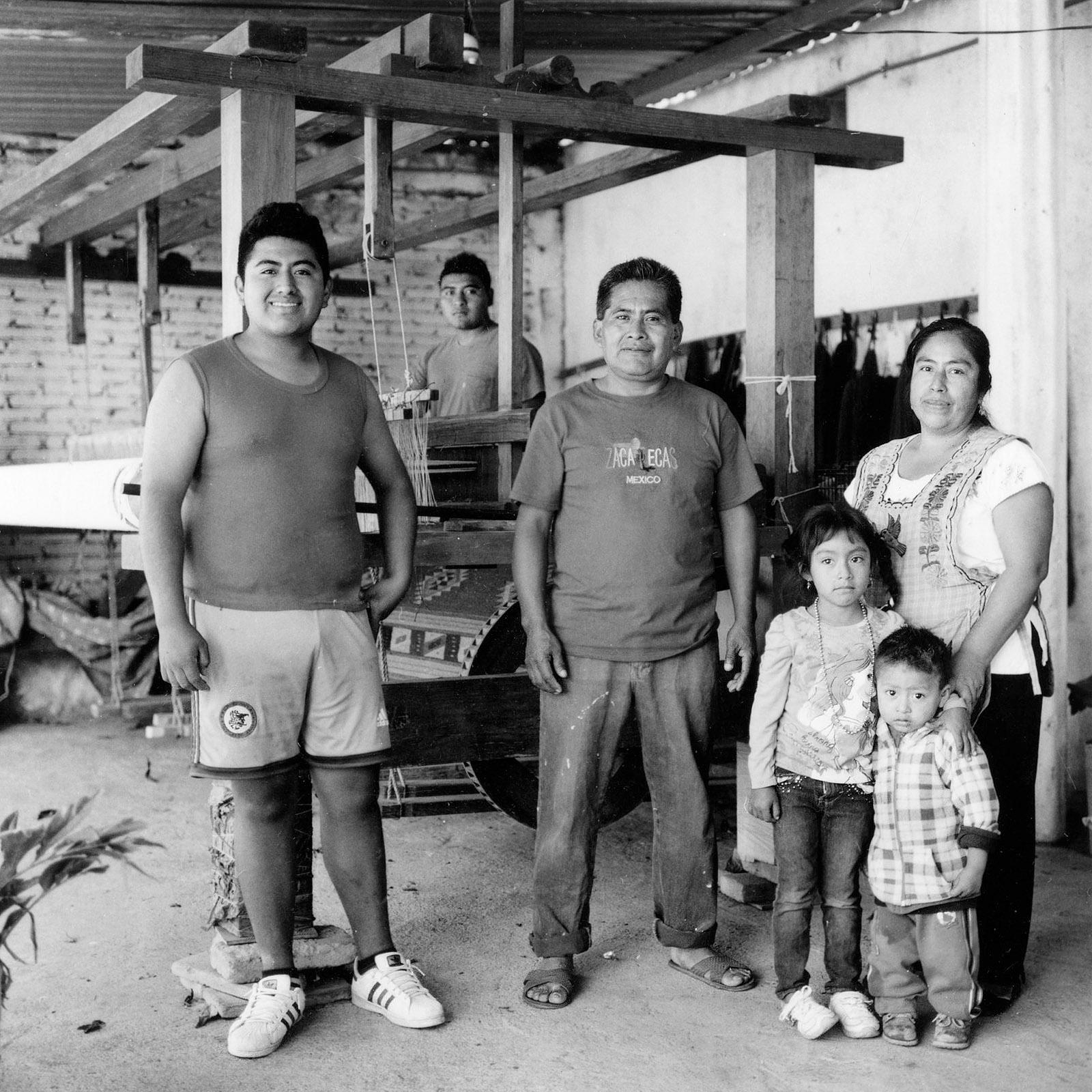 Donato Lopez Family - Teotitlan del Valle, Oaxaca, 2017