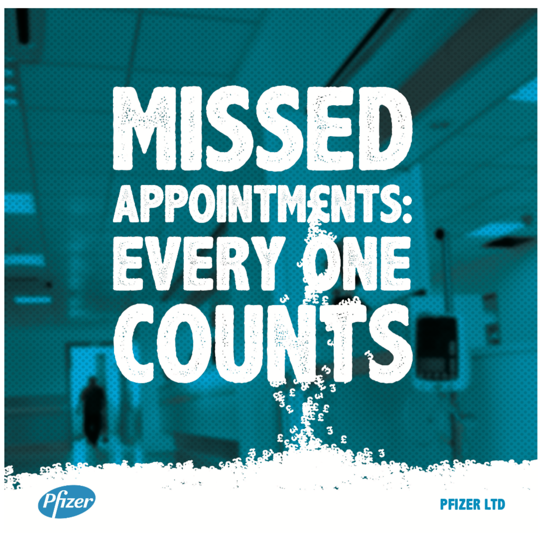 Missed Appointments: Every One Counts - This report summarises the findings of our 2 year research project, exploring the reasons behind missed appointments, and what could help reduce them. The project was sponsored by Pfizer Ltd.