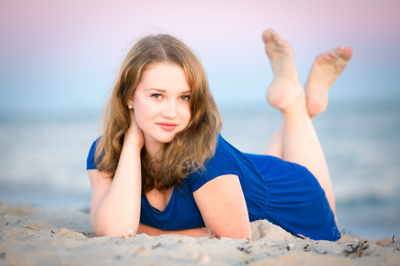 Beach - Includes up to 1 1/2 hours at the beach before dusk with 2 outfits and unlimited poses...$225 - Includes retouched yearbook file.Please feel free to use the Contact Button below for appointments or questions.