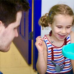 speech therapy -