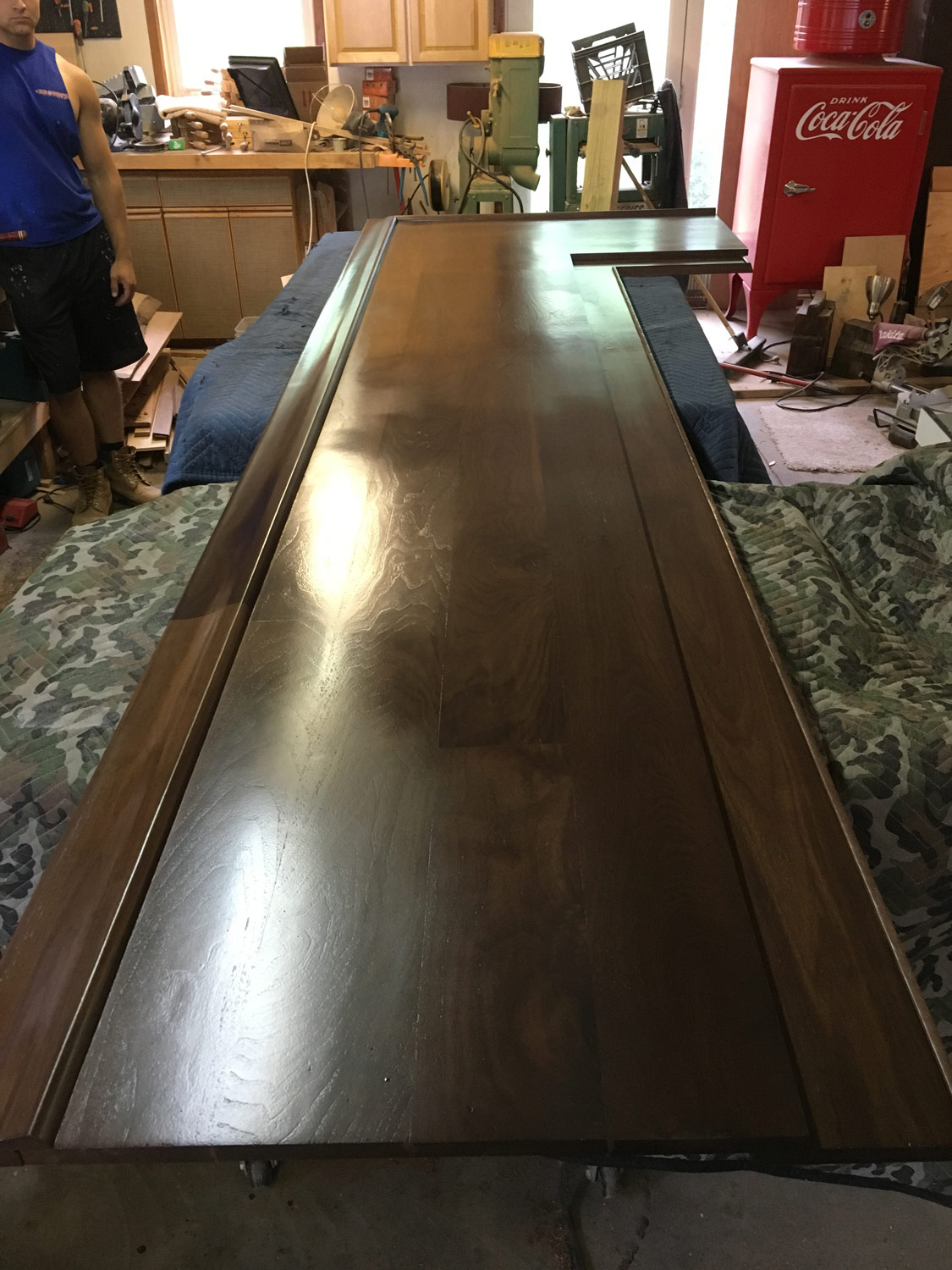 Who can resist the warmth of polished walnut?Its depth of color will only improve with age.