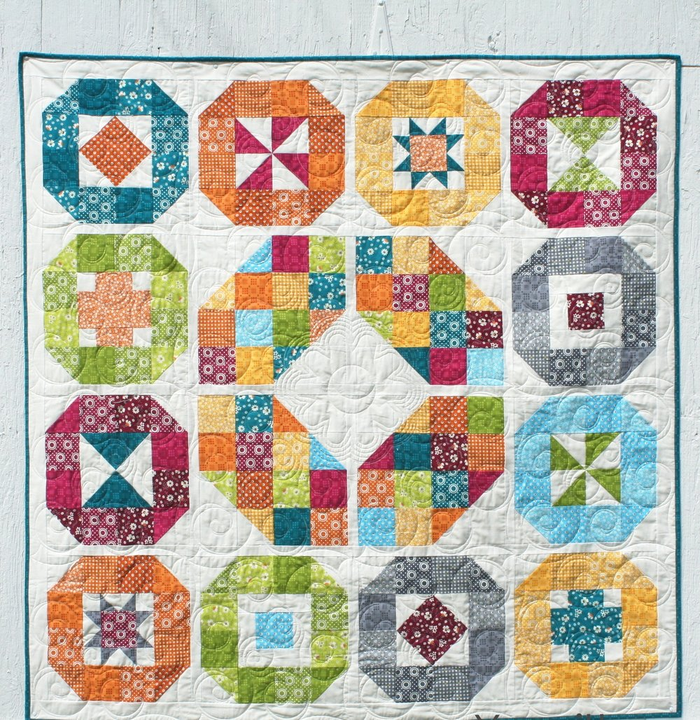 Lacuna Sampler Quilt Pattern Pdf Download Annemarie Chany