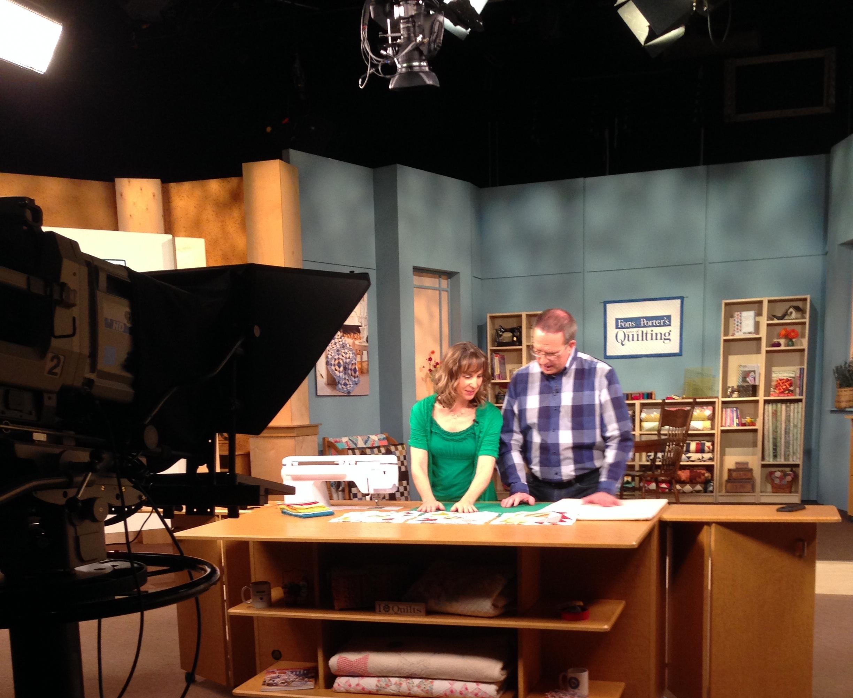 Fons & Porter TV Show Chany On set.jpg