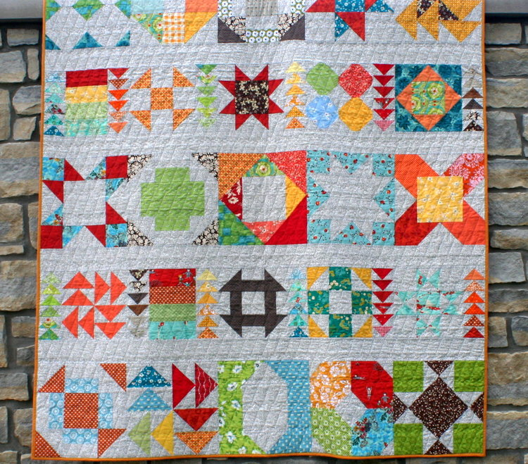 Patchwork Auditions - FREE: ADV BEGINNER.RETHINK COLOR.... one block, color changes everything