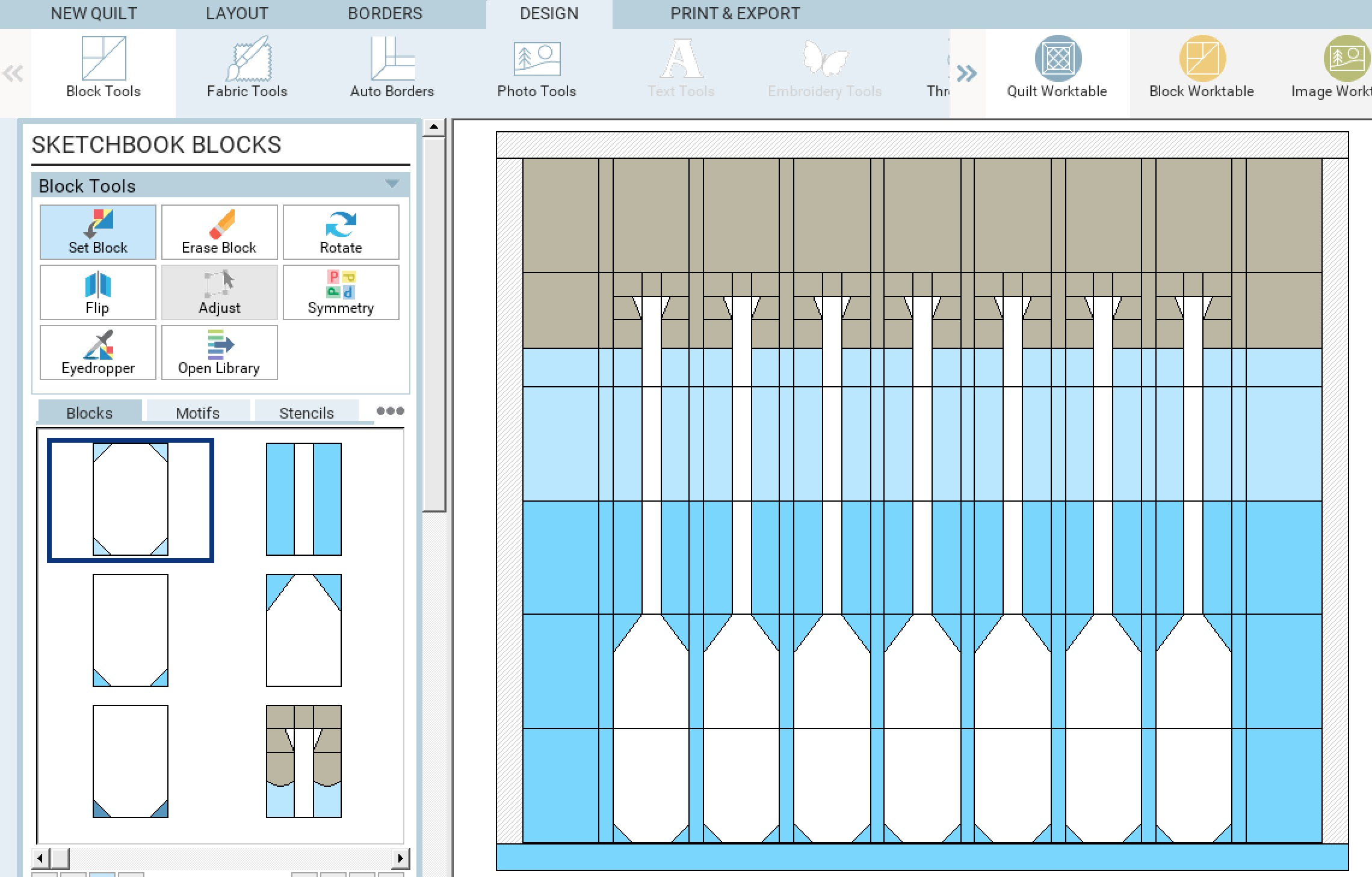 Lakeside Sampler Quilt Pattern Sketch 3.jpg