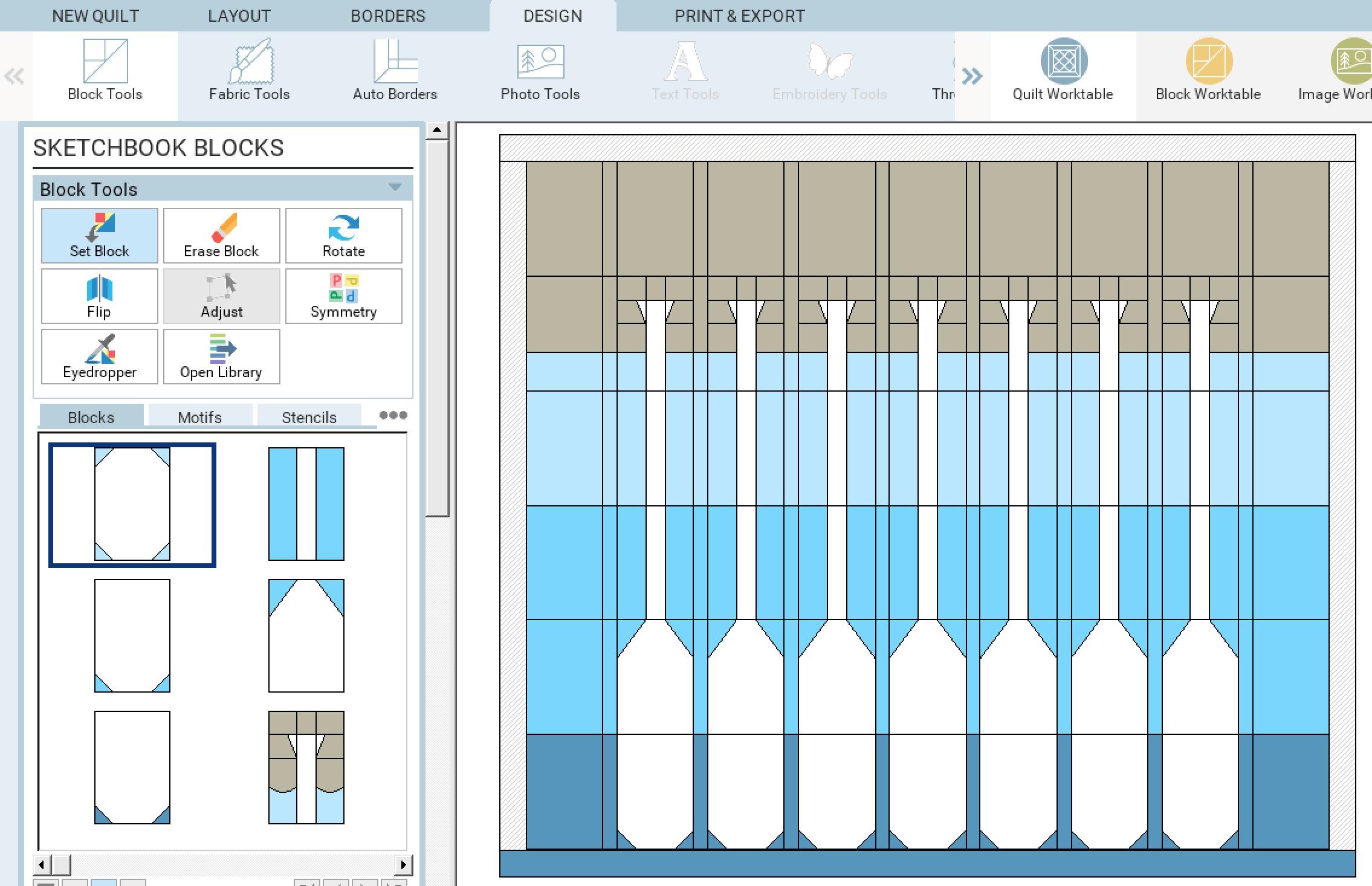 Lakeside Sampler Quilt Pattern Sketch 4.jpg