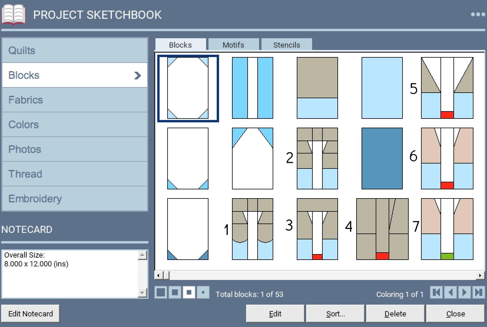 Lakeside Sampler Quilt Pattern Sketch 5.jpg