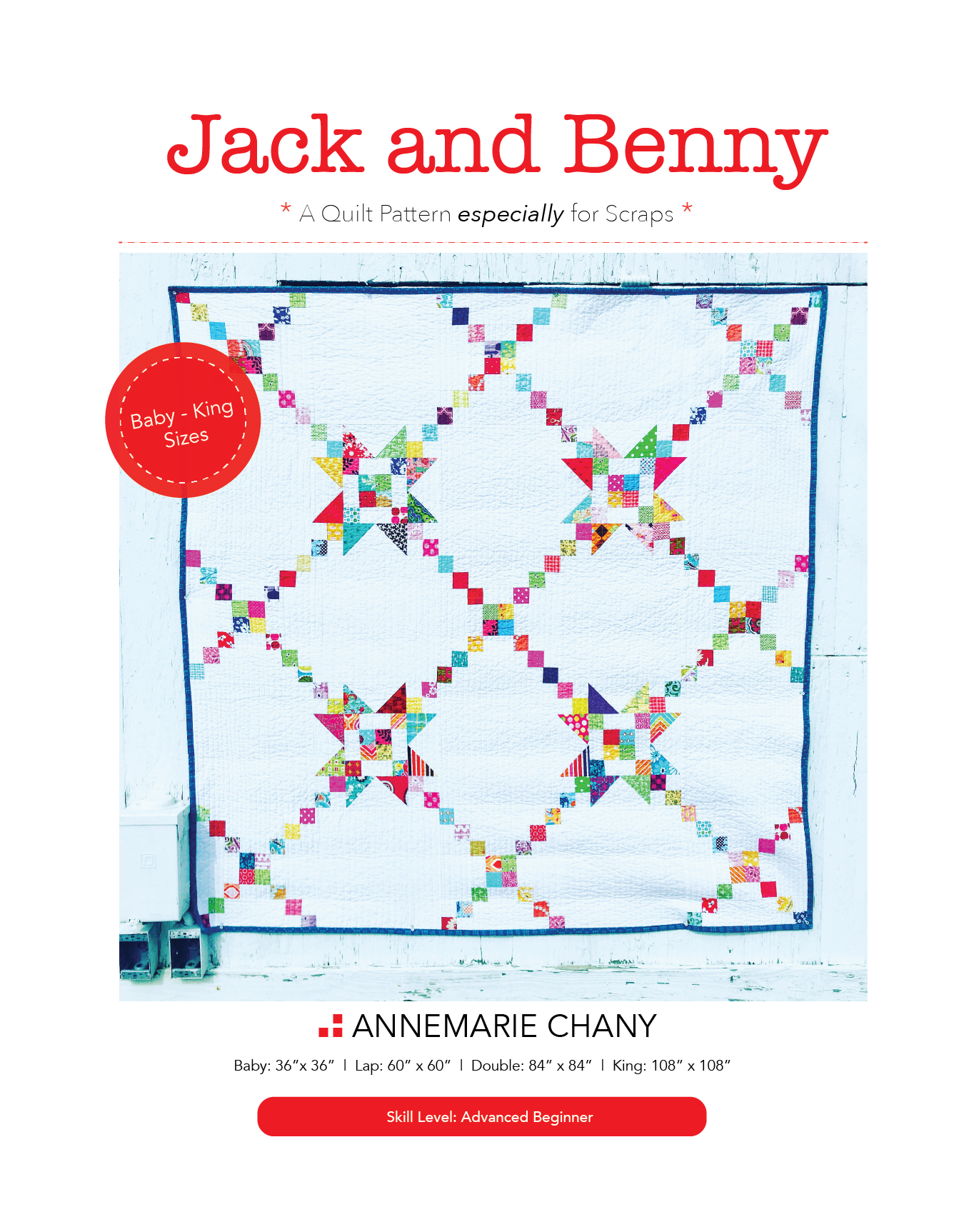 >> JACK AND BENNY QUILT PATTERN <<  PDF RELEASES TODAY!  reg. price $10 ON SALE thru blog/IG for $8