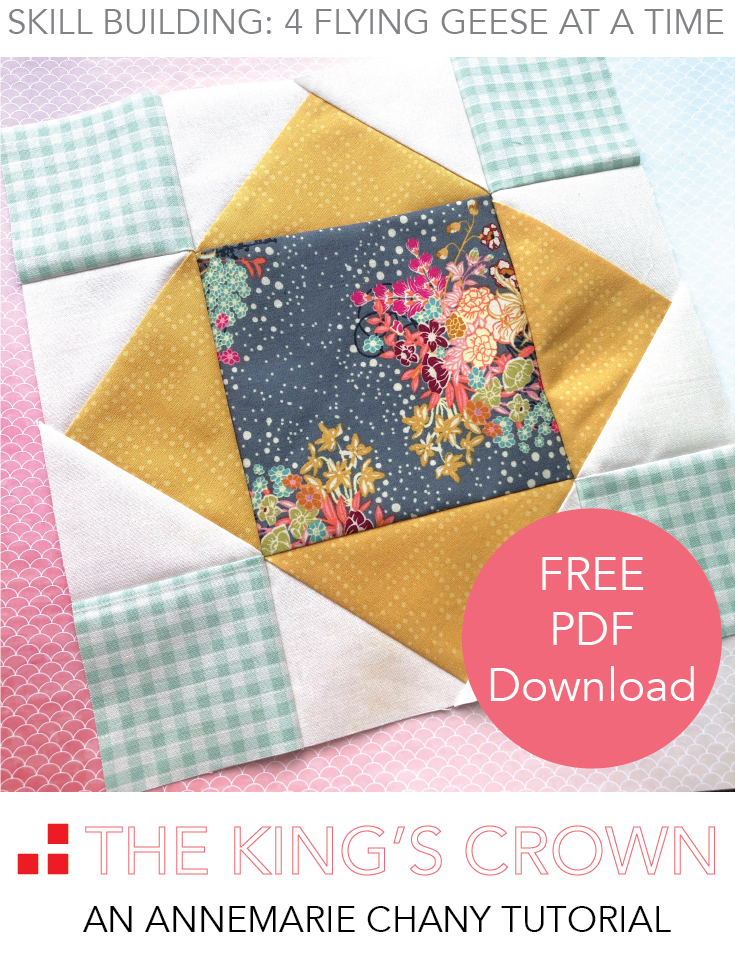 The King's Crown Free Quilt Block Tutorial.png