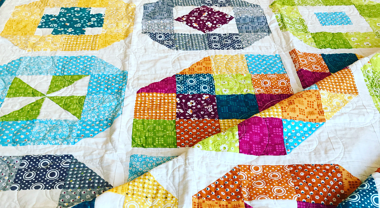 Lacuna Sampler Quilt Pattern: Available in  Print  and PDF