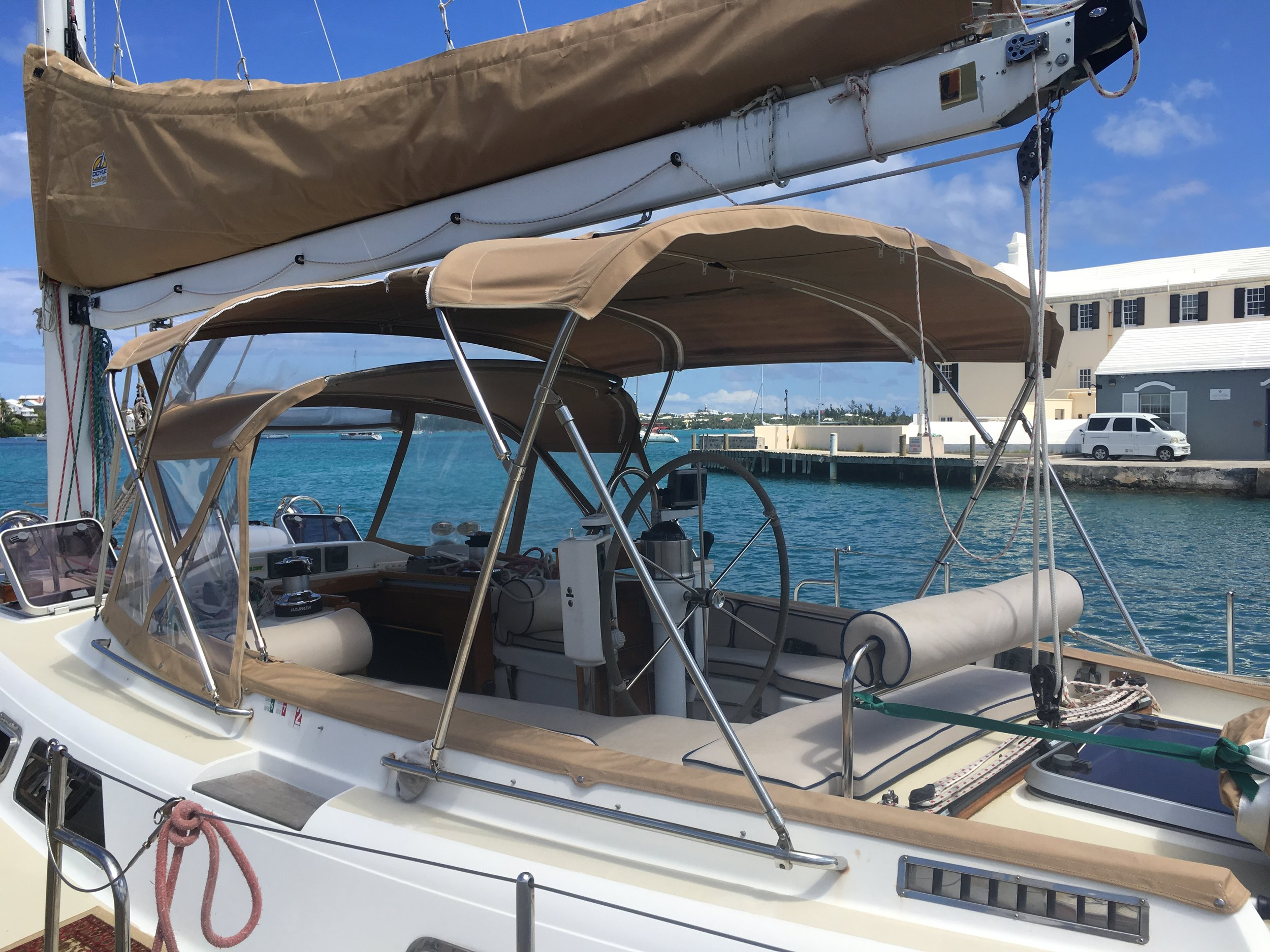 Dodger, Bimini, Cradle Cover and Upholstery.JPG
