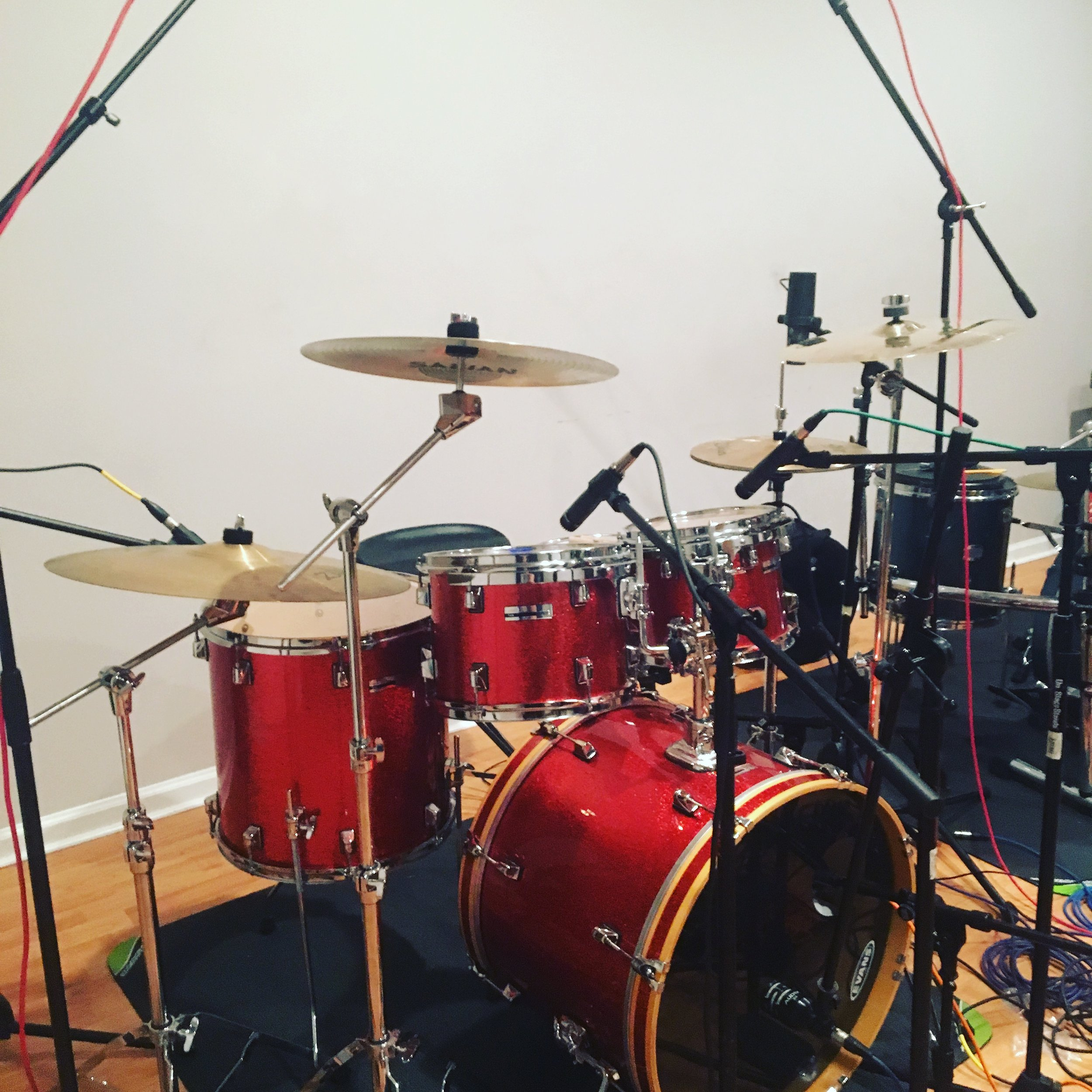 Come record in our well equipped studio. A wide array of gear is available for your use.