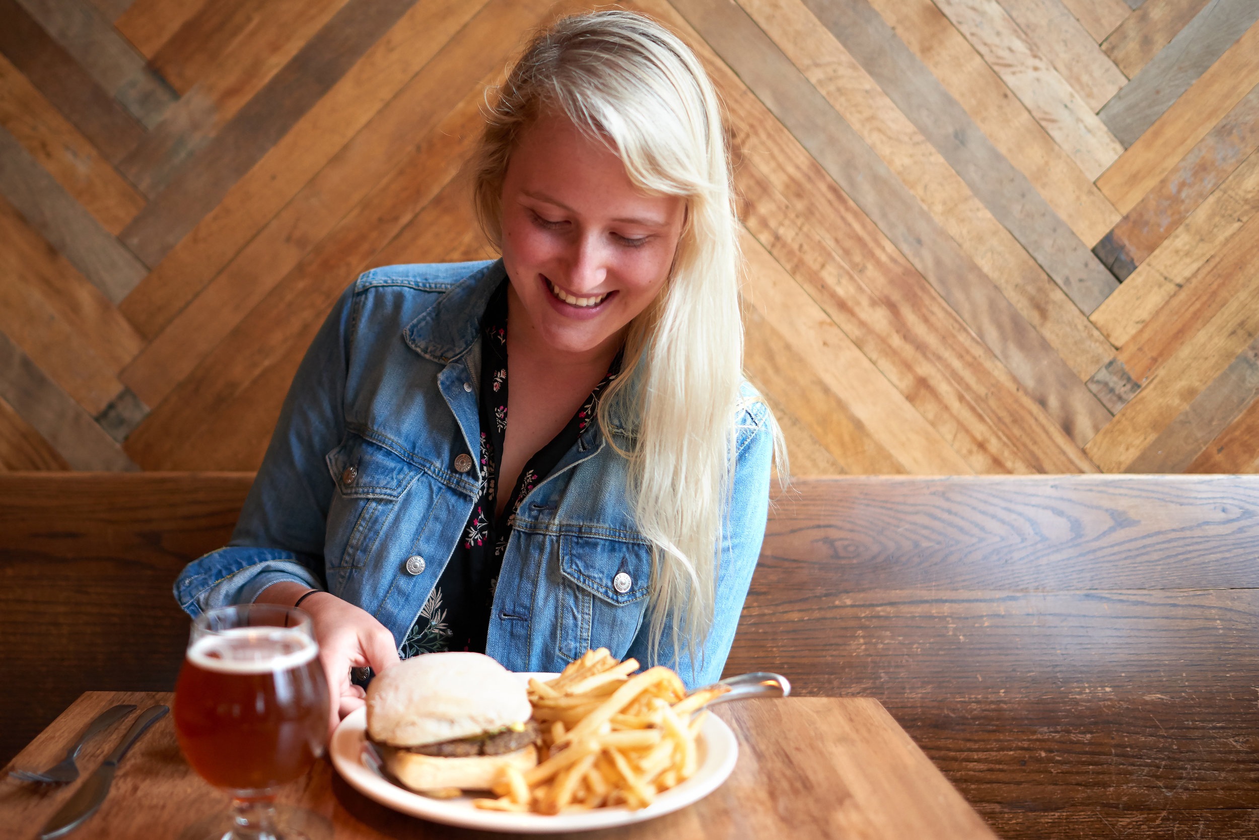 The Make Shift Local Anna Bisch Vegan Burger Company Brewing