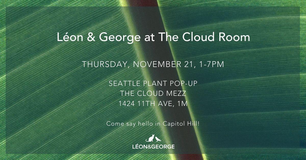 Seattle plant pop-up