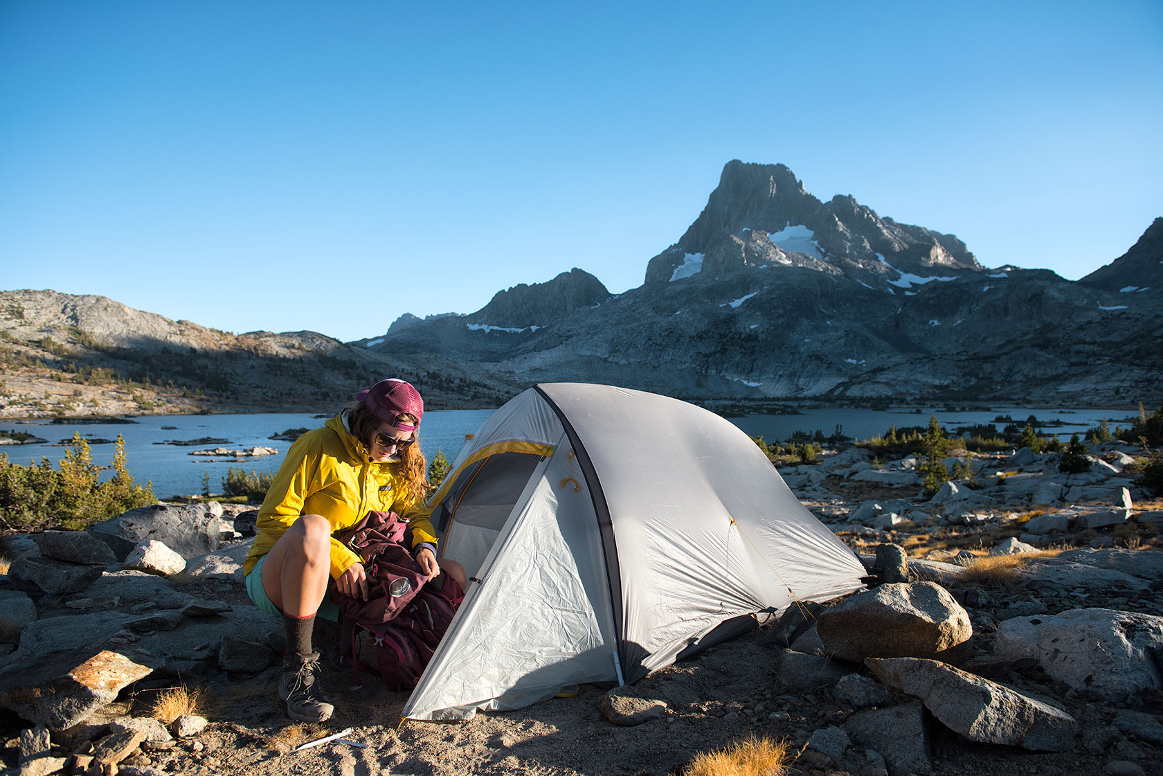 austin-trigg-big-agnes-tent-john-muir-trail-camping-Unpack-FlyCreek-thousand-Island-Lake-sunset.jpg